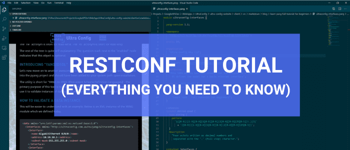 RESTCONF Tutorial - Everything you need to know about RESTCONF in 2020
